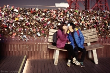 broken-bench-n-seoul-tower
