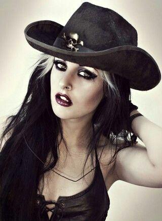 a99fb62926830332dd99d05cb3e11c41--gothic-models-cowgirls